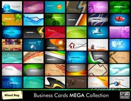 Mega collection of Business Cards in various concepts.