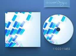 Shiny abstract CD Cover design for business.