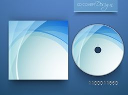 Creative shiny CD Cover design for business.