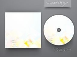 Shiny CD Cover design for business concept.