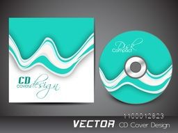 Creative abstract CD Cover design for business.