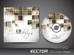 CD Cover with abstract design for business.