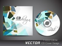 CD Cover with abstract design for your business.