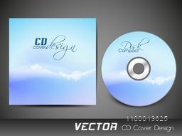 CD Cover design for business concept.