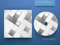 Creative CD Cover with abstract design.
