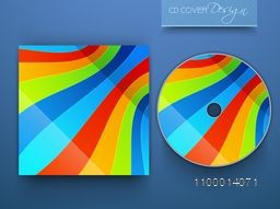 Creative colorful CD Cover design for business.