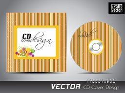 Beatiful stylish CD Cover design for your business.