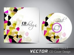 Creative CD Cover with abstract design for your business.