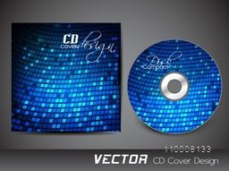 Creative blue CD Cover design for your business.