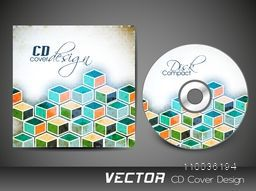 CD Cover with colorful abstract design for your business.