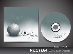 Creative CD Cover design with world globe for your business.