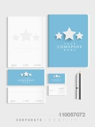 Creative professional corporate identity kit for your business includes Letterhead, Visiting Cards, Envelopes, Folder and stationary.