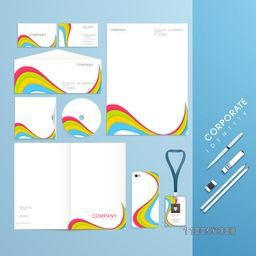 Professional big corporate identity set for your business.