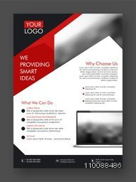 Professional One Page Business Flyer, Banner, Template or Corporate Cover Design.
