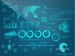 Big set of various Infographic elements for your Business report and presentation.