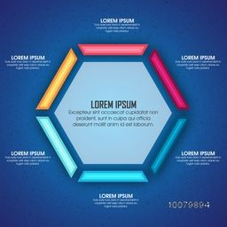 Creative Business Infographic layout for your professional report presentation.