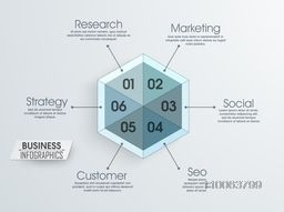 Stylish search engine optimization business layout or template.