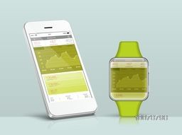 Data synchronization of Health and Fitness between Smart Watch and Smartphone.