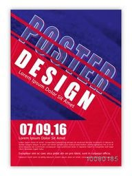 Creative Poster, Banner, Flyer or Pamphlet for your Business.