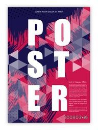 Creative colorful Poster, Banner, Flyer or Pamphlet for your Business.
