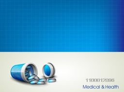 Abstract Medical Background with medicines.