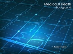 Creative abstract background for Health and Medical concept.