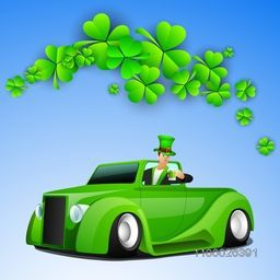 Happy St. Patrick's Day background, can be use as flyer, banner or poster.