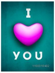 Saint Valentine's Day background, greeting card or gift card with text I LOVE YOU having pink heart on grungy green background. EPS 10.