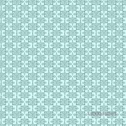 Seamless background with Arabic or Islamic ornaments style pattern.