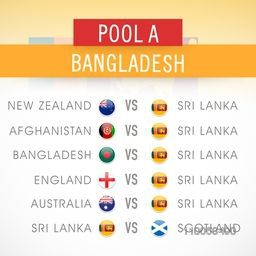 Cricket World Cup 2015 Pool A, Bangladesh match schedule versus other countries.