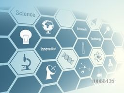 Stylish creative background with various signs and symbols for Science.
