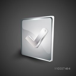 Glossy 3D web 2.0 left arrow symbol icon set. EPS 10.