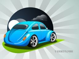 Vector illustration of a Car.