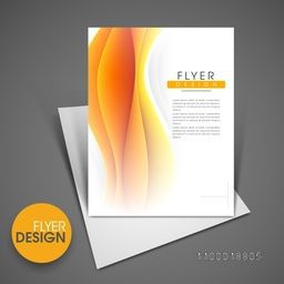 Professional business flyer template, corporate brochure or cover design, can be use for publishing, print and presentation.