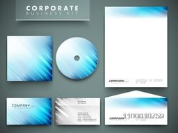 Professional corporate identity kit or business kit for your business includes CD Cover, Business Card, Envelope and Letter Head Designs.