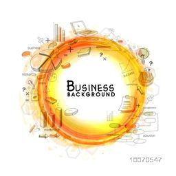 Creative business infographic elements set.