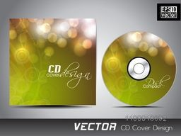 Glowing abstract CD Cover design for your business.