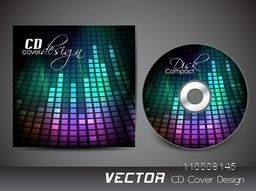 Creative shiny CD Cover design for your business.