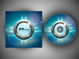 Glossy abstract CD Cover design for your business.