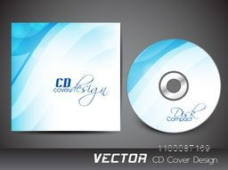 Abstract design decorated CD Cover for your business.