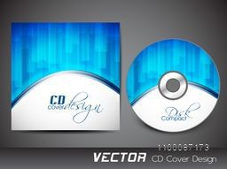 Creative CD Cover design for business concept.