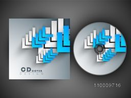 CD Cover design with abstract arrows.