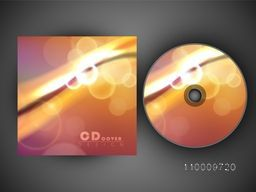 Glowing CD Cover design for your business.
