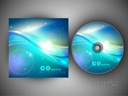 Creative glossy CD Cover design for your business