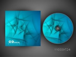 Blue CD Cover design for your business.