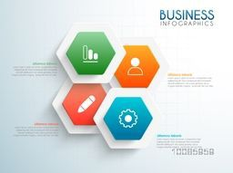 Glossy infographic elements with web symbols for Business reports and presentation.