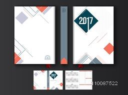 Personal Organizer, Diary or Notebook for the year 2017.