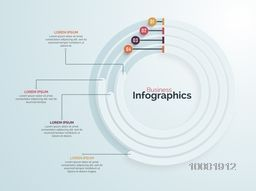 Creative statistical infographic elements for Business reports and financial data presentation.