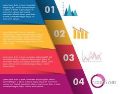 Creative colorful infographic template layout with statistical graphs for Business reports and presentation.