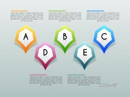 Creative infographic template layout for Business concept.
